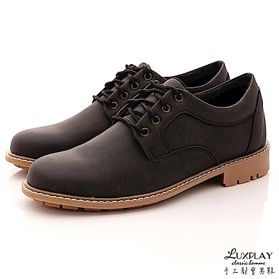 LUXPLAY男款 韓版 型男必備款  休閒鞋~T8801黑