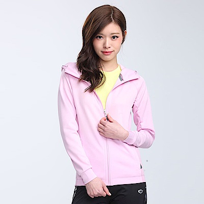 【TOP GIRL】亮光紗連帽剪接外套-粉紅色