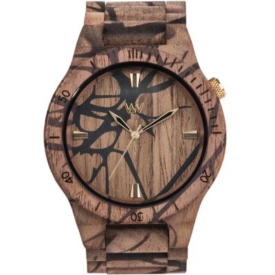WEWOOD 義大利木頭錶設計款 ALPHA NATURE TREE NUT-45mm