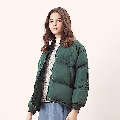 CACO-蓬鬆保暖鋪棉外套(兩色)-女【NCH238】