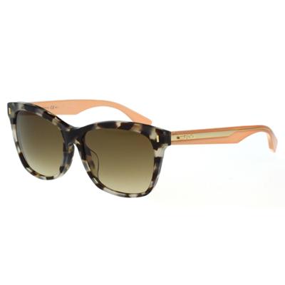FENDI 時尚造型太陽眼鏡 (豹紋色)FF0086FS