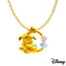 Disney迪士尼金飾 黃金墜子-歡欣布魯托款 送項鍊
