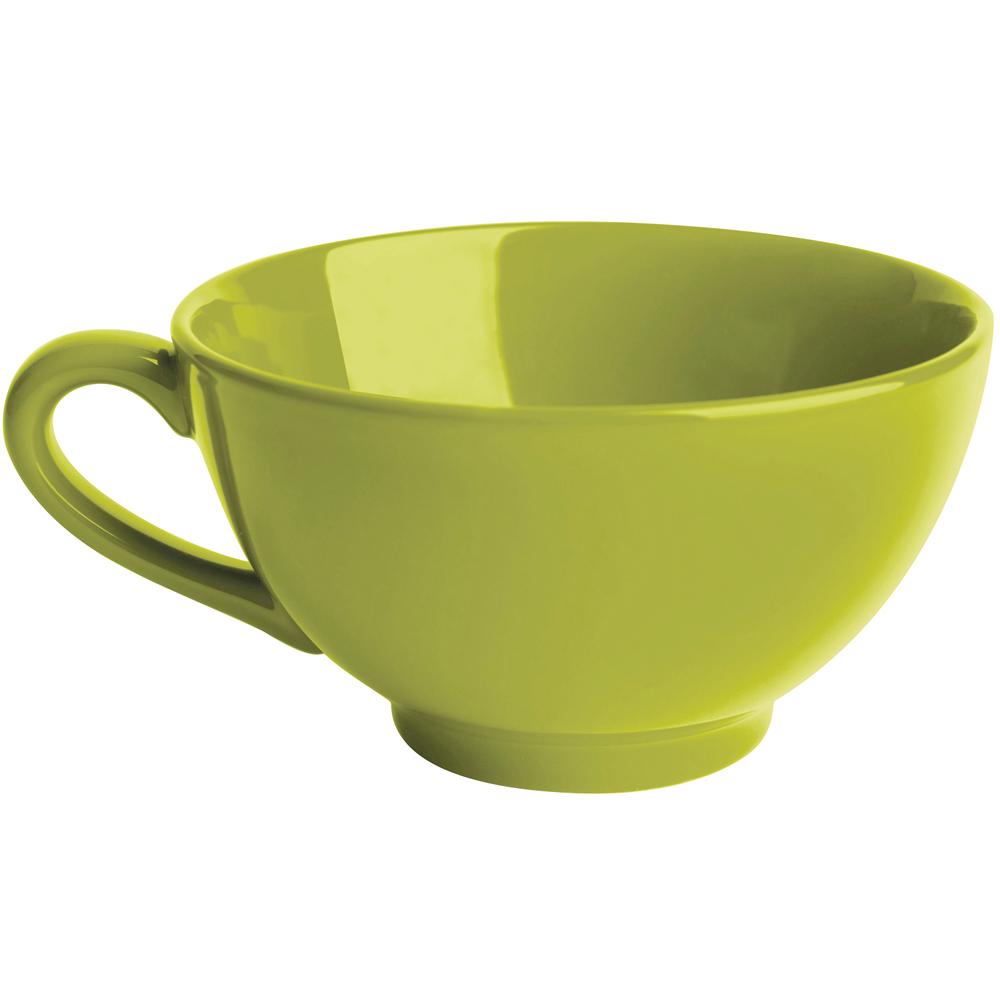 EXCELSA Trendy陶製湯杯(綠450ml)