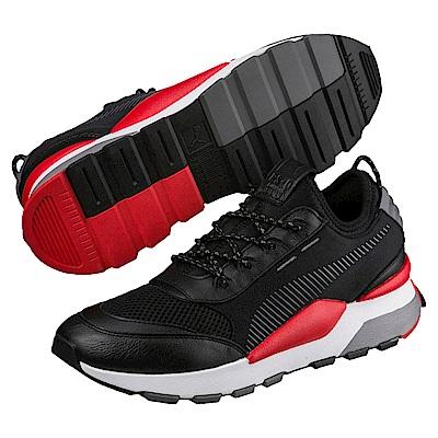 PUMA-RS-0 Play男女復古慢跑鞋-黑色