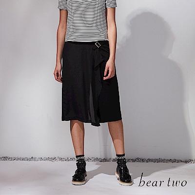 beartwo 浪漫假兩件式造型褲裙(二色)