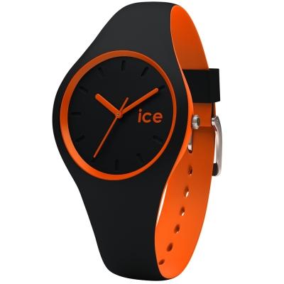 Ice-Watch 玩色系列 炫彩新時尚手錶-黑x橘/41mm