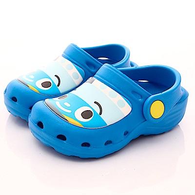 TAYO小巴士童鞋 超輕護趾透氣涼鞋款 EI3903藍(小童段)