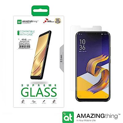 AmazingThing Asus ZenFone 5 (2018)透明強化玻璃...