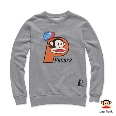 PAUL FRANK x NBA-溜馬隊&Julius聯名款長袖T恤-麻灰色(男)