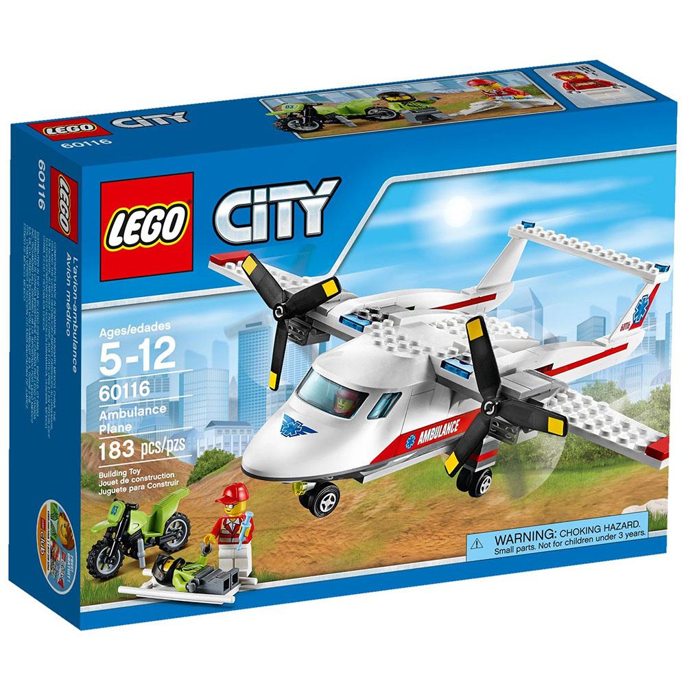 LEGO樂高 城市系列 60116 救護飛機