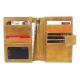 CALTAN-男女用真皮護照夾-皮夾-卡夾-中夾