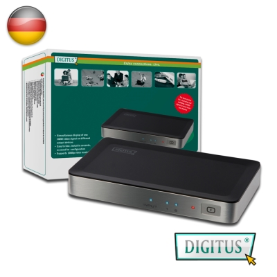 曜兆DIGITUS HDMI ~DS-41300一入二出分配器