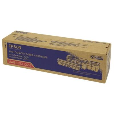 EPSON C13S050555 紅色碳粉匣
