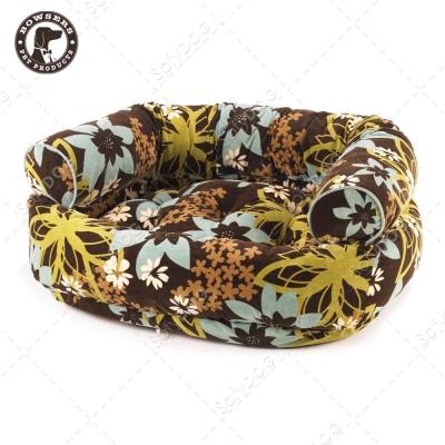 BOWSERS雙層極適寵物沙發床-熱帶花花-M