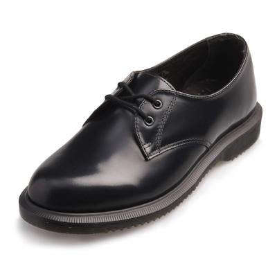 Dr.Martens Brook-經典2孔馬汀馬丁鞋-黑色R16514001
