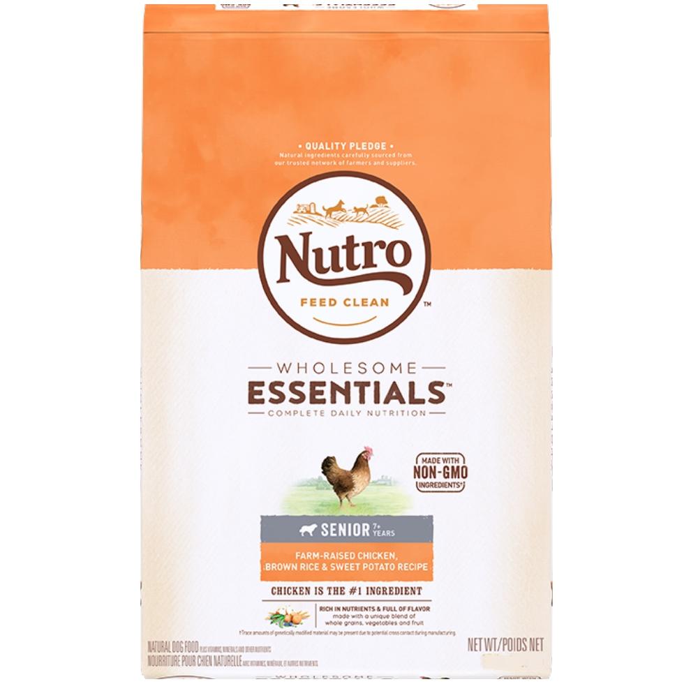 美士 全護營養系列-高齡犬配方 (農場鮮雞+糙米、地瓜) 15磅
