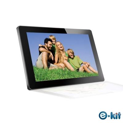 逸奇e-Kit 15.6吋玻璃防刮鏡面數位相框電子相冊 DF-VM15