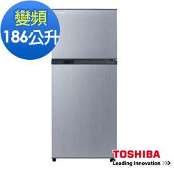 東芝186公升變頻電冰箱GR-M25TBZ(S)