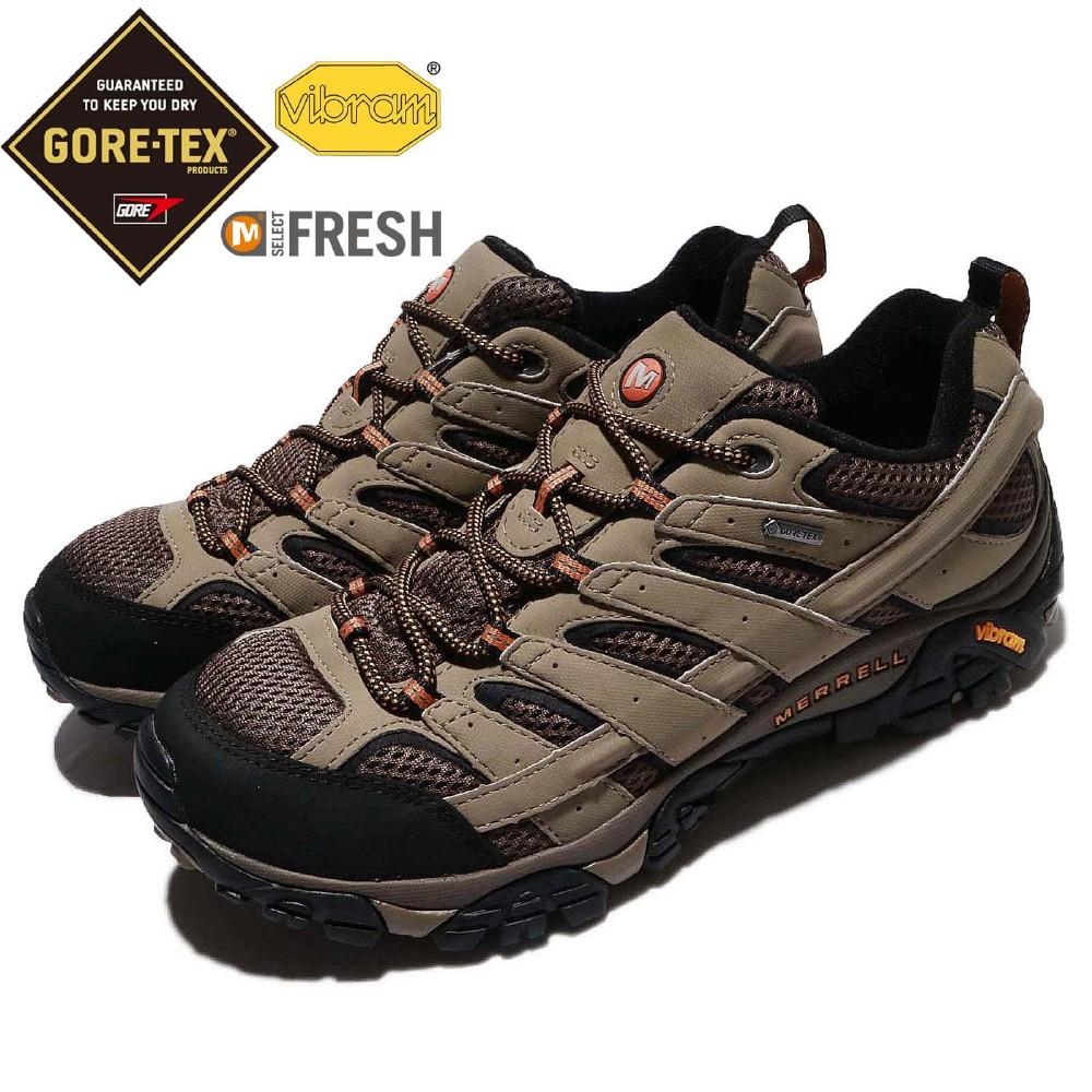 Merrell 越野鞋 Moab 2 GTX 運動 男鞋