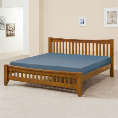 Homelike 里恩床架組-雙人加大6尺(不含床墊)