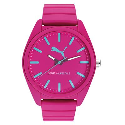 PUMA  動感舞力休閒腕錶-PU911241015/48mm
