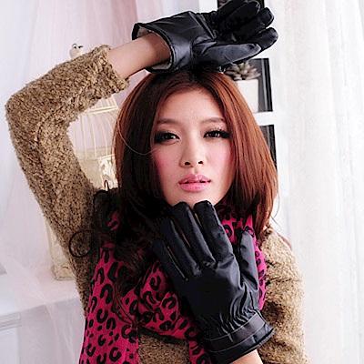 Aimee Toff 穩重率性保暖時尚男款手套(咖啡)
