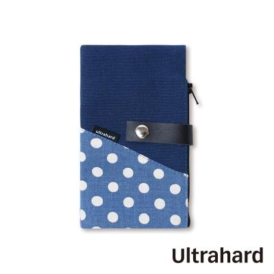 Ultrahard POP Art 多 收納袋系列~點點藍