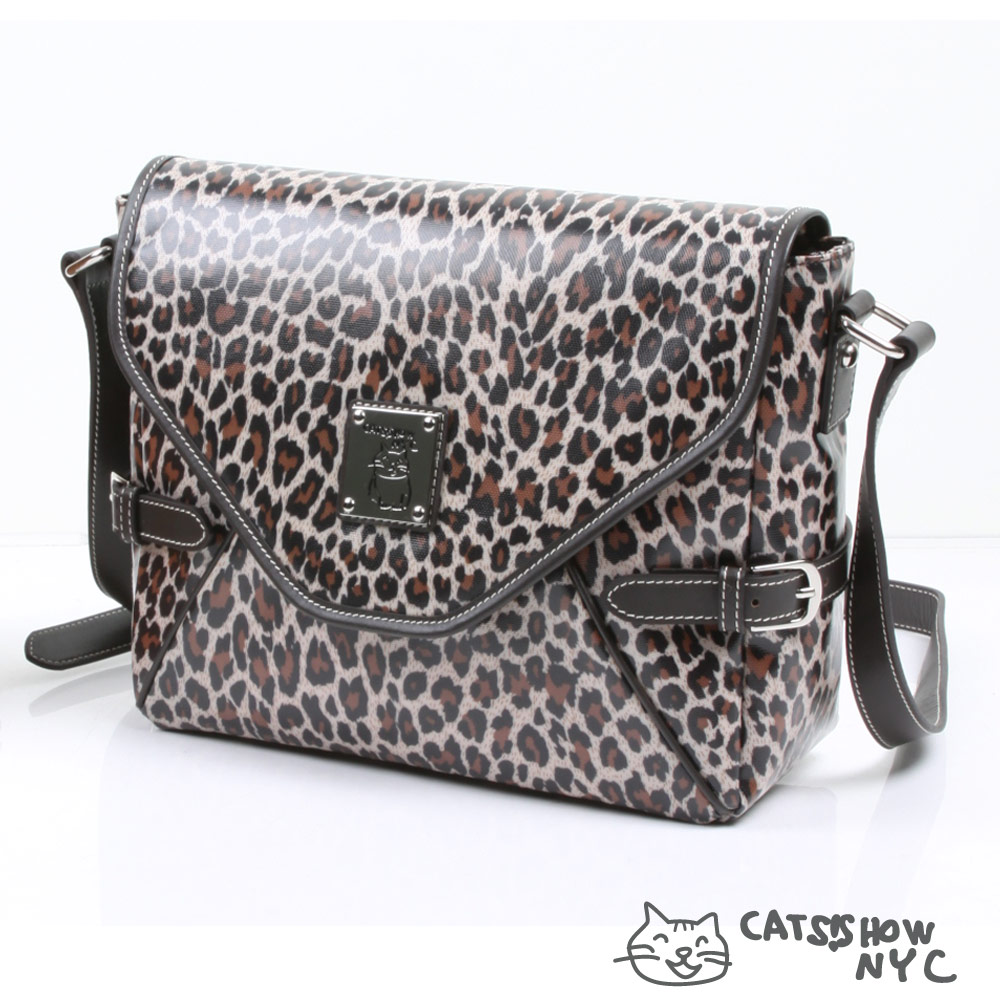 NYC紐約貓- 精品 防水 動物紋女包