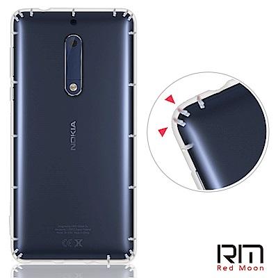 RedMoon Nokia 5 5.2吋 防摔透明TPU手機軟殼