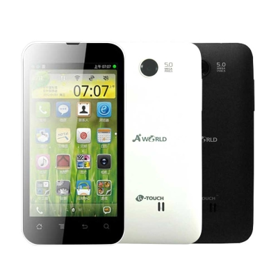 A-World-Pro5-K-Touch-E780-4吋亞太智慧機-全新逾期品