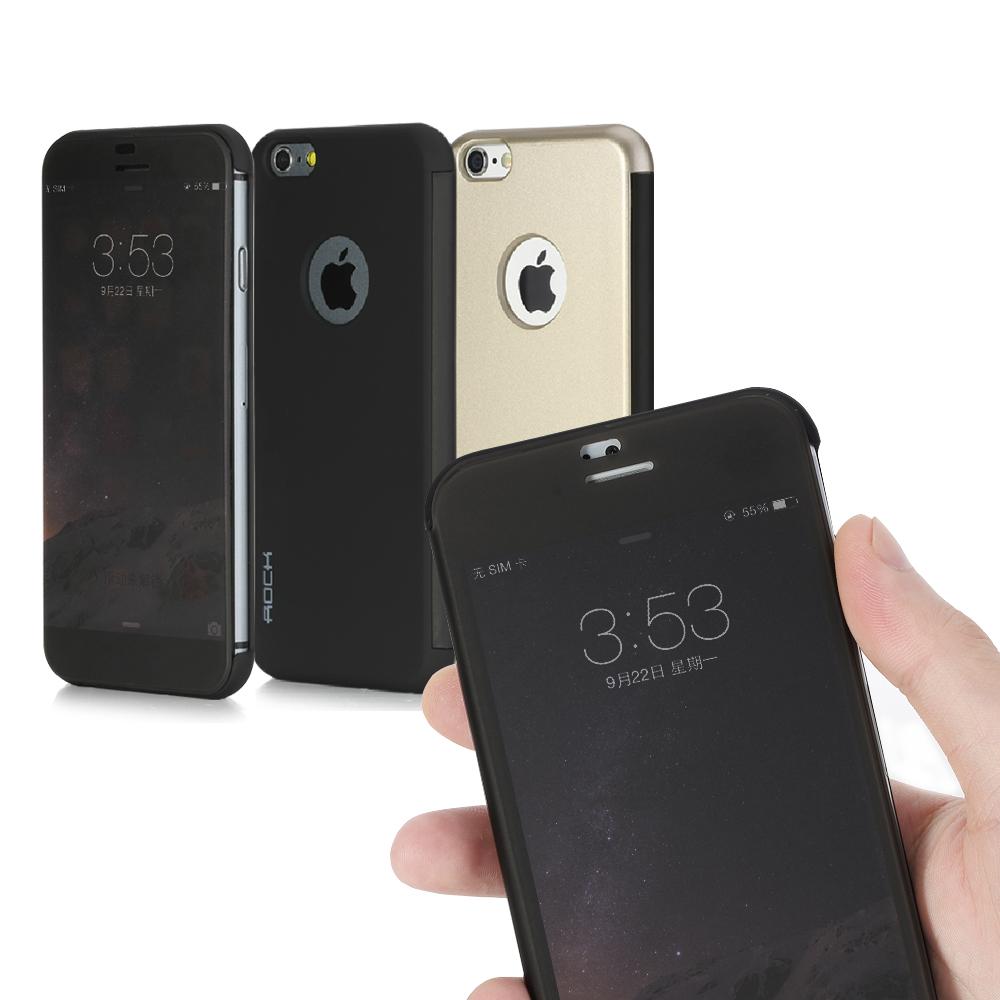 ROCK Apple iPhone 6  4.7吋 博美視景隱形皮套