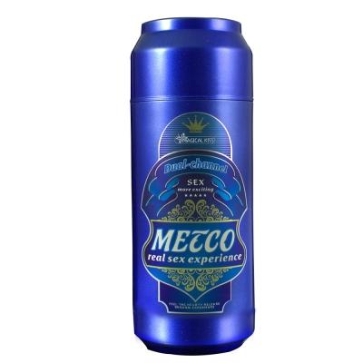 香港Cupid METCO BEER淡啤酒 12段變頻 啤酒罐造型男用電動自慰杯(快速到貨