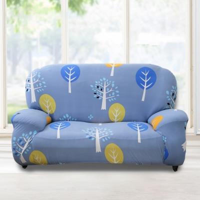 歐卓拉 小樹森林彈性沙發套1人座
