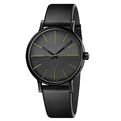 CK CALVIN KLEIN Boost 鼓動系列鍍PVD黑手錶-41mm
