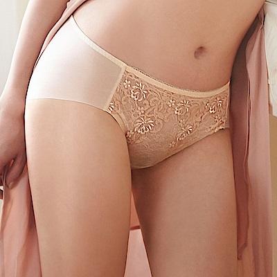 蕾黛絲-華麗V真水-平口內褲 M-L(暖暖金)