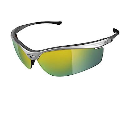 【ADHOC】運動太陽眼鏡-鍍膜鏡片-半框式SPEEDOR