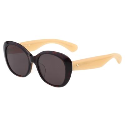 Kate Spade 復古造型 太陽眼鏡 (琥珀色)