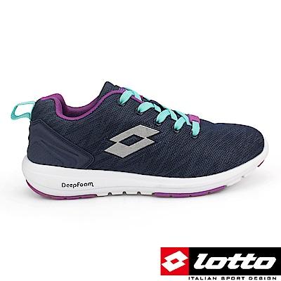 LOTTO 義大利 女 CITYRIDE 多功能訓練鞋(紫)