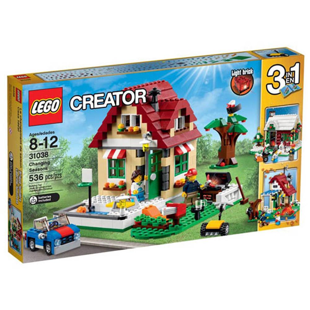 LEGO樂高 3合1創作系列31038 四季變換小屋
