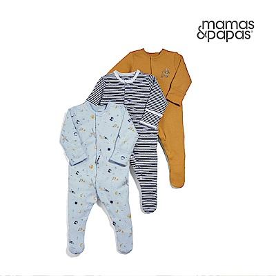 Mamas & Papas WTTW無尾熊的太空探險-連身衣3件組