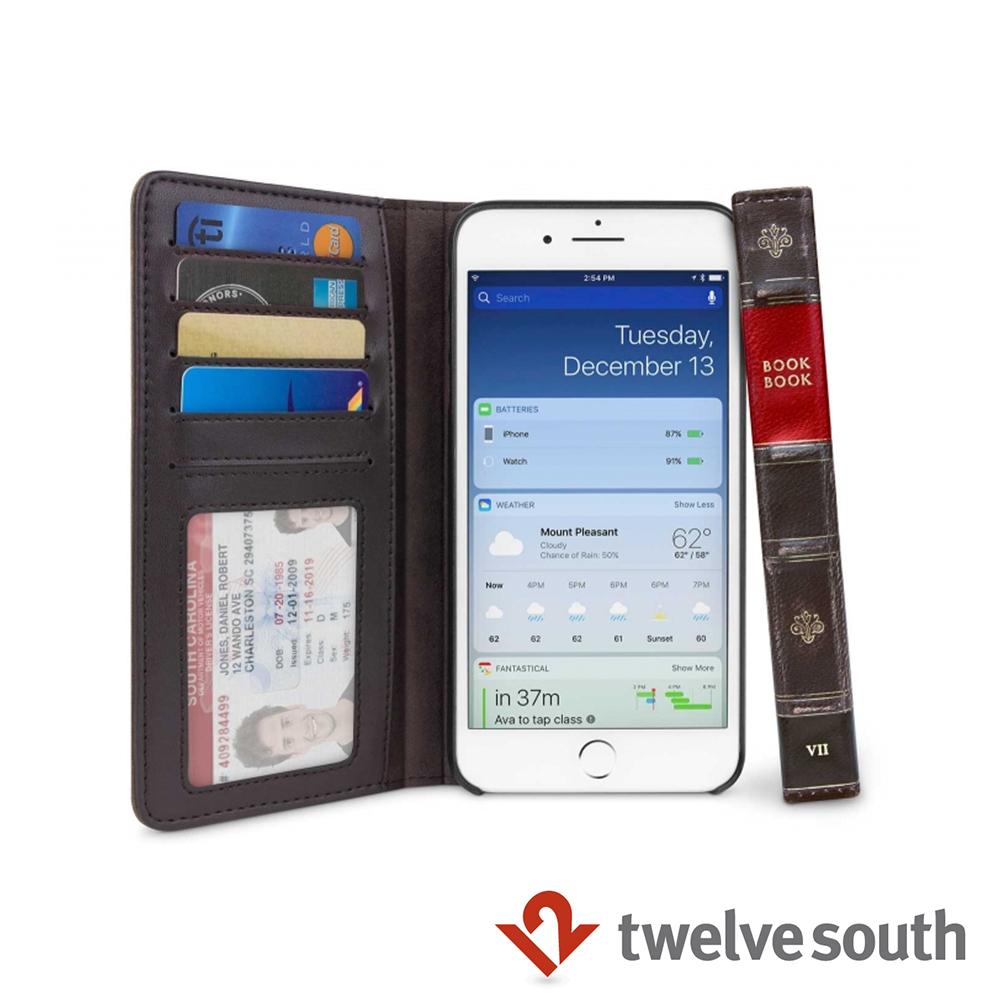 Twelve South BookBook iPhone 8復古書仿舊皮革保護套