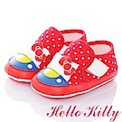 HelloKitty Die-Cut系列 輕量彈性防滑學步童鞋-紅