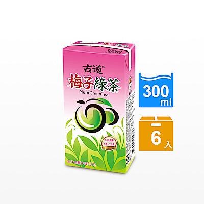 古道 梅子綠茶(300mlx6瓶)