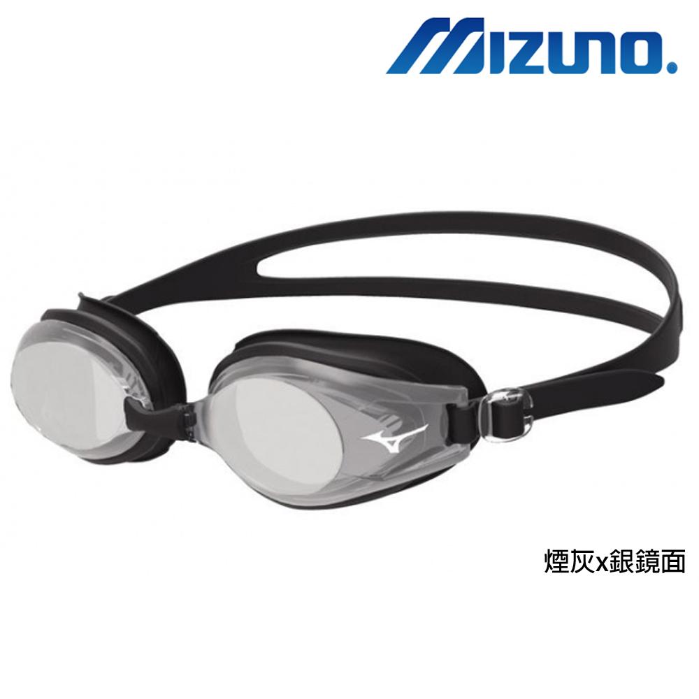 MIZUNO 美津濃 日本製矽膠墊片電鍍泳鏡 N3JE602100