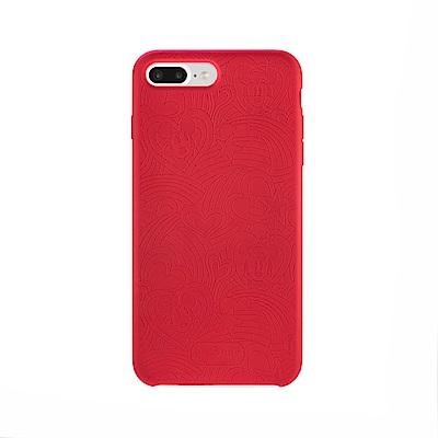 Bone iPhone 7Plus / 8Plus Slimcase超纖公仔背殼-米奇米妮