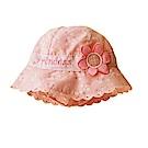 兒童典雅花朵公主盆帽