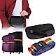 超值旅行組合 kiret 密碼行李箱束帶+超薄貼身隱形腰包-黑 各1入 product thumbnail 1