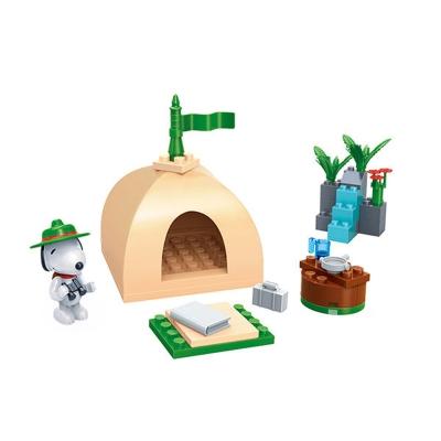 任選 BanBao邦寶積木 史努比系列 Peanuts Snoopy 露營趣 7517