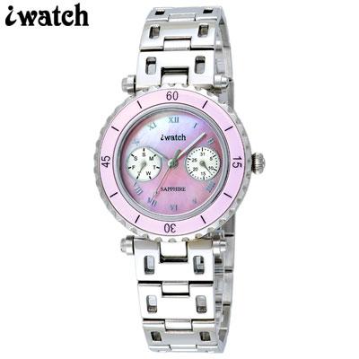 iwatch 陶瓷雙眼魅力粉貝腕錶