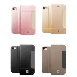 LUCCIDA Apple iPhone7 / iPhone8 4.7吋 前插卡式側立皮套